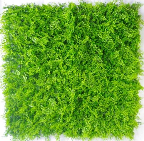 Artificial Mediterranean Fern Vertical Garden UV Stabilised 1m x 1m