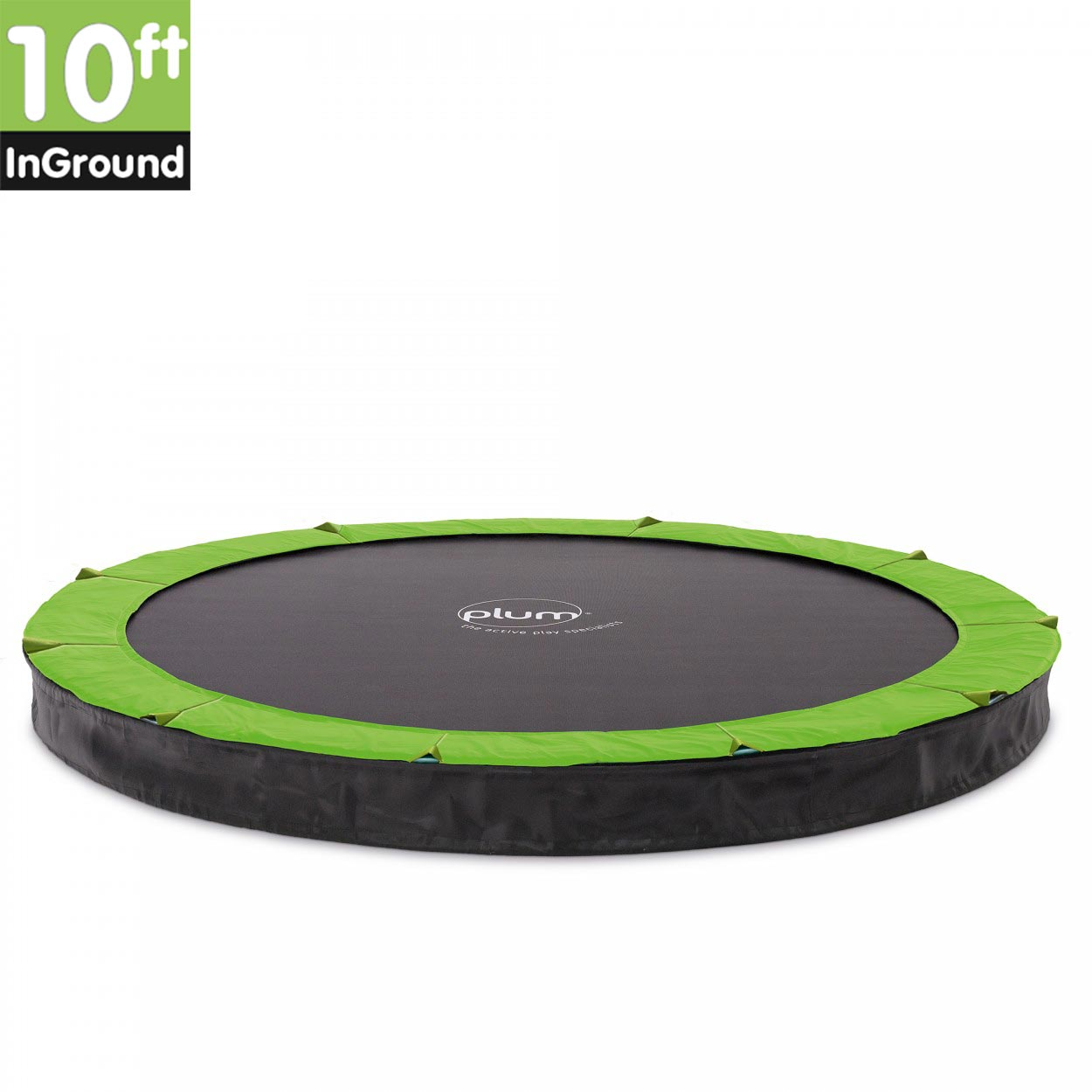 Plum 10ft In-Ground Trampoline