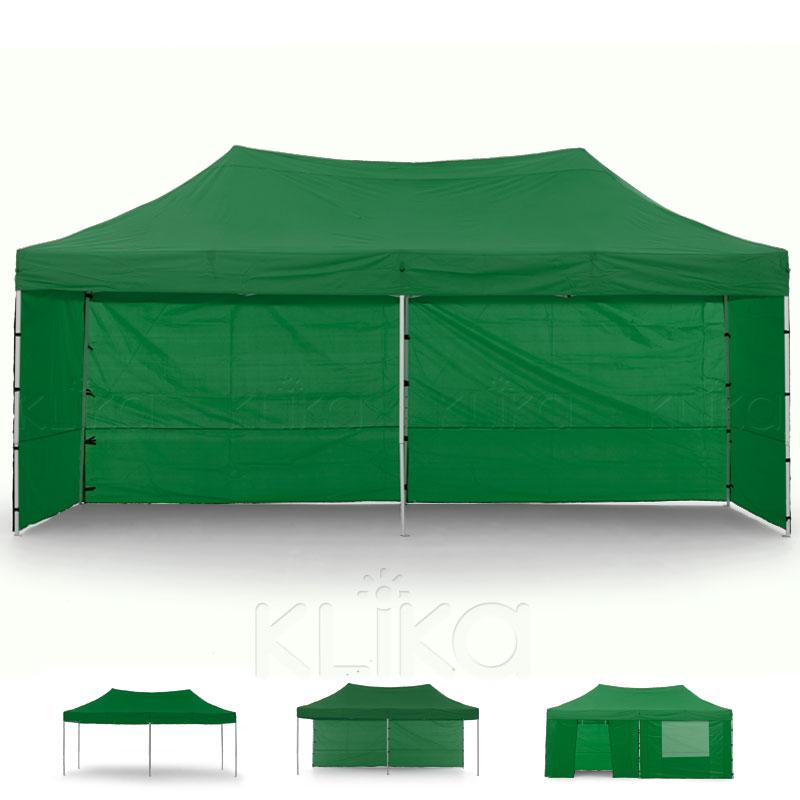 Wallaroo 3x6 Marquee - PopUp Gazebo - Green