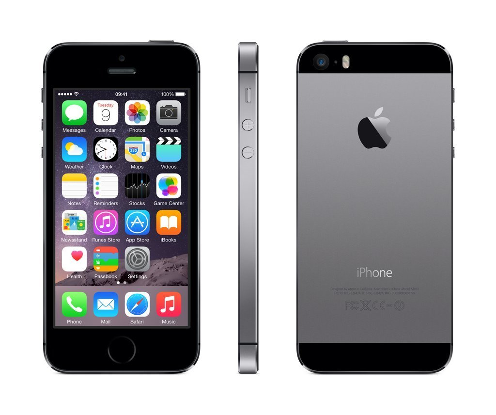 Apple iPhone 5s 16GB Unlocked with USB cable only - Space Grey