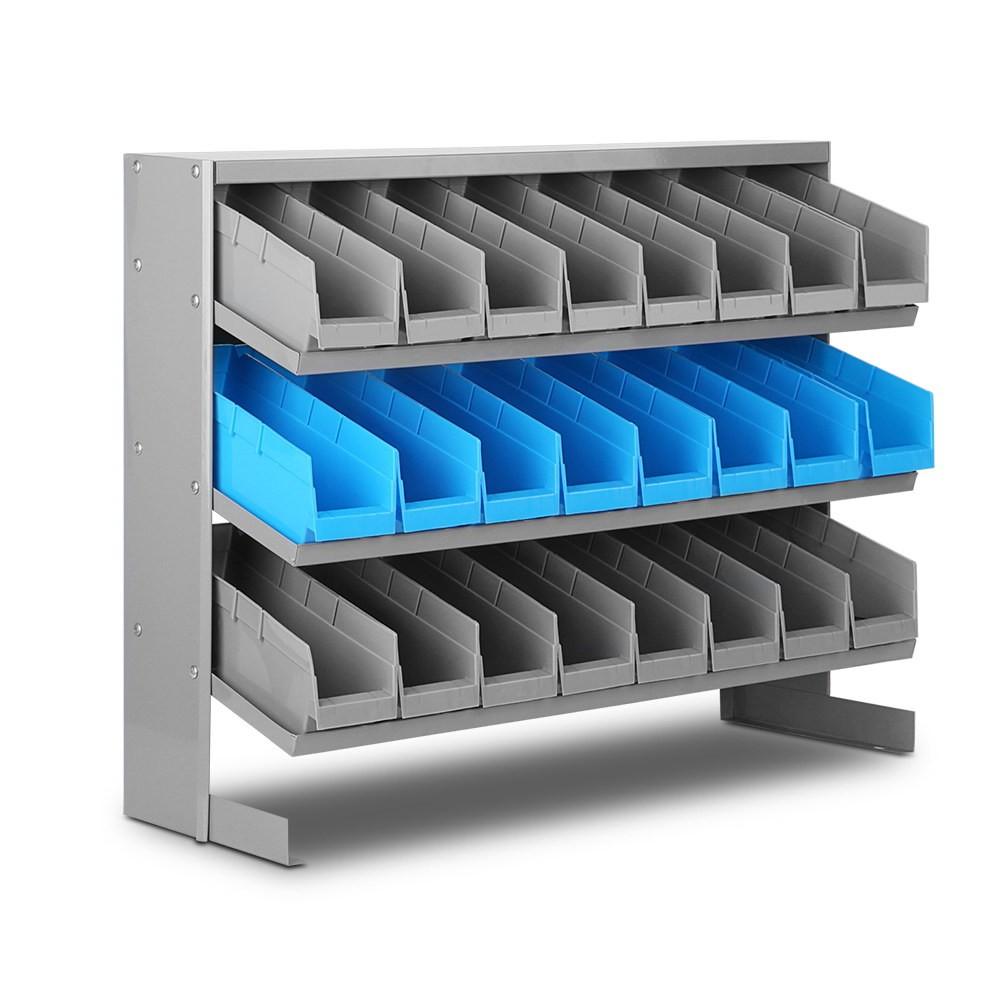 GIANTZ 24 Storage Bin Rack Stand