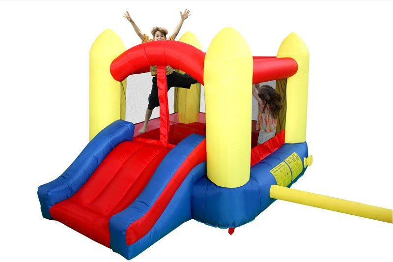 Big Air Inflatable Bouncer Jumping Castle with pump