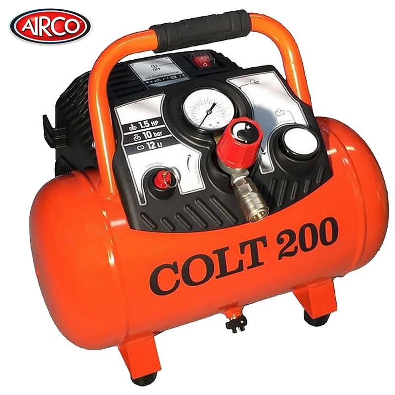Airco colt air compressor 12 litre tank 1 5hp 200 l mi for Air compressor for pool closing