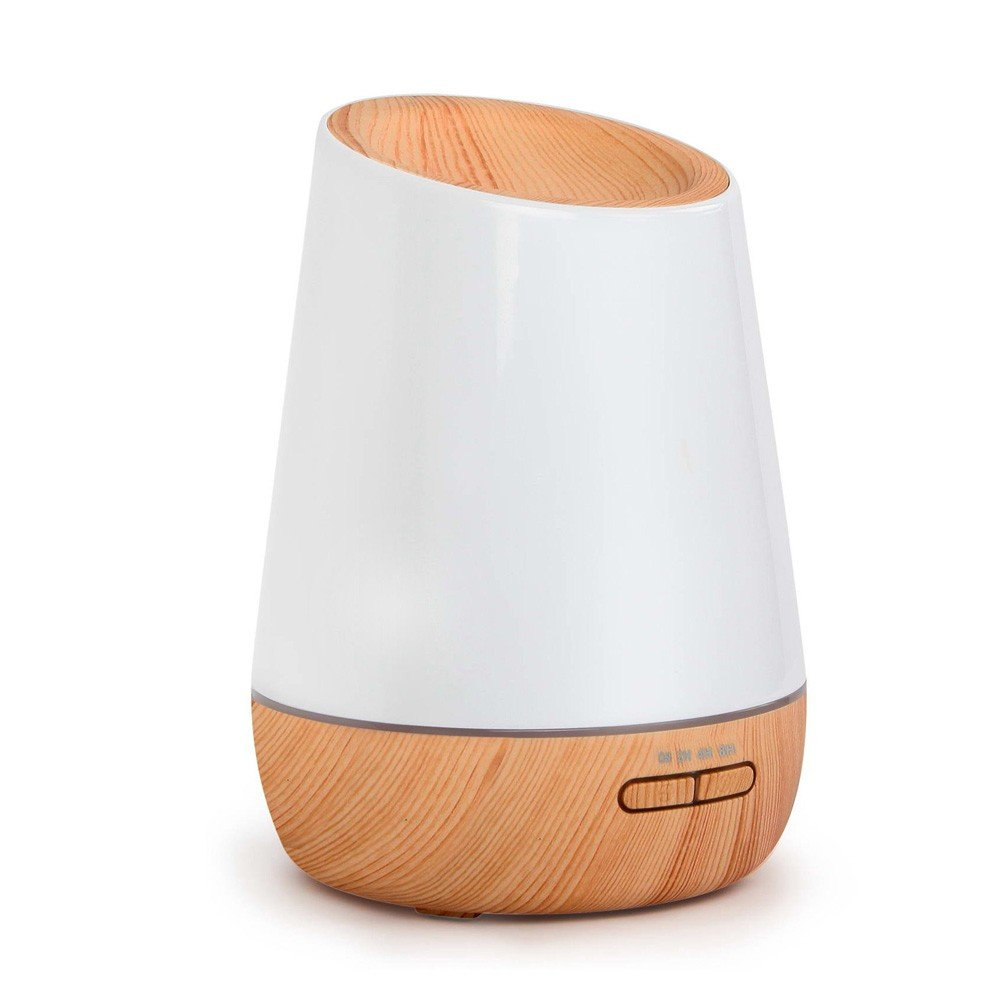 4 in 1 Ultrasonic Aroma Diffuser 500ml - Light Wood Wide