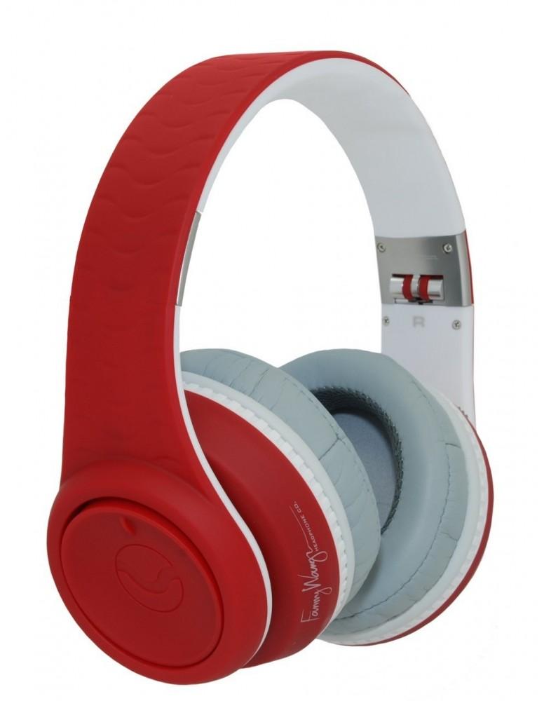 Fanny Wang 2000 Series Over Ear DJ Headphones - Red