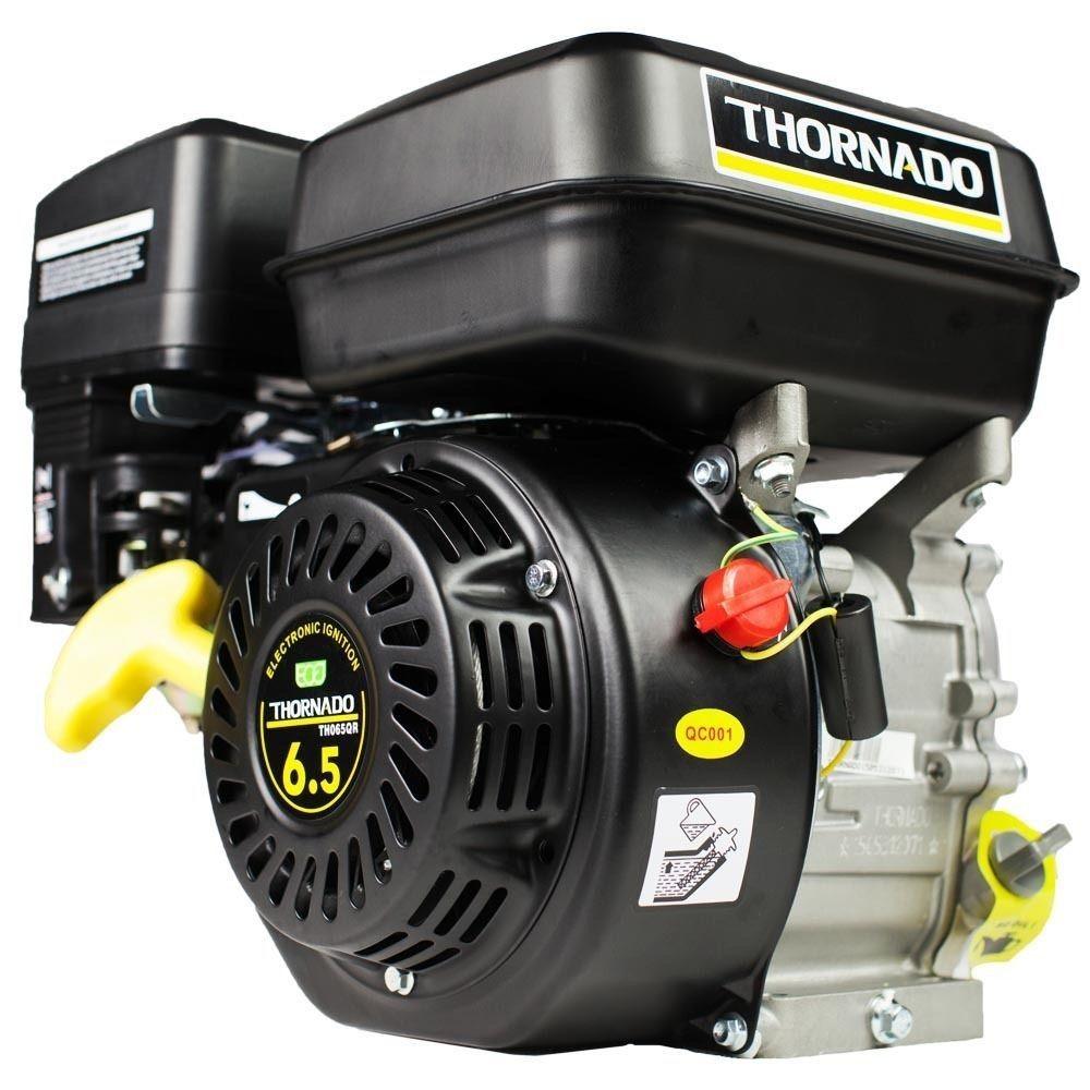 Petrol 196cc OHV Stationary Motor 6.5HP Engine - 19mm Shaft