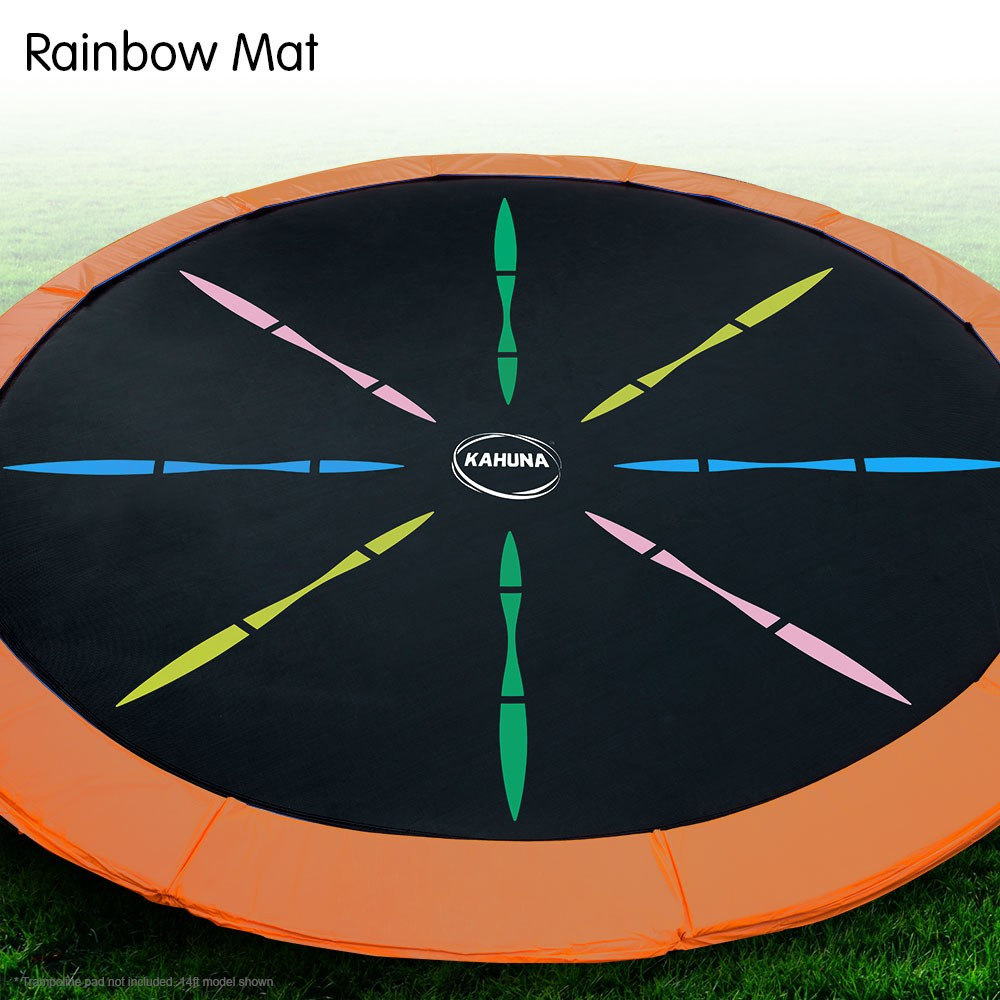 Trampoline Replacement Spring Mat Rainbow