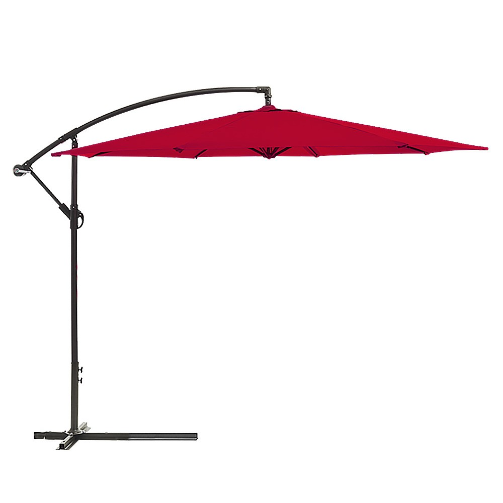 3m Cantilever Market Umbrella - Red