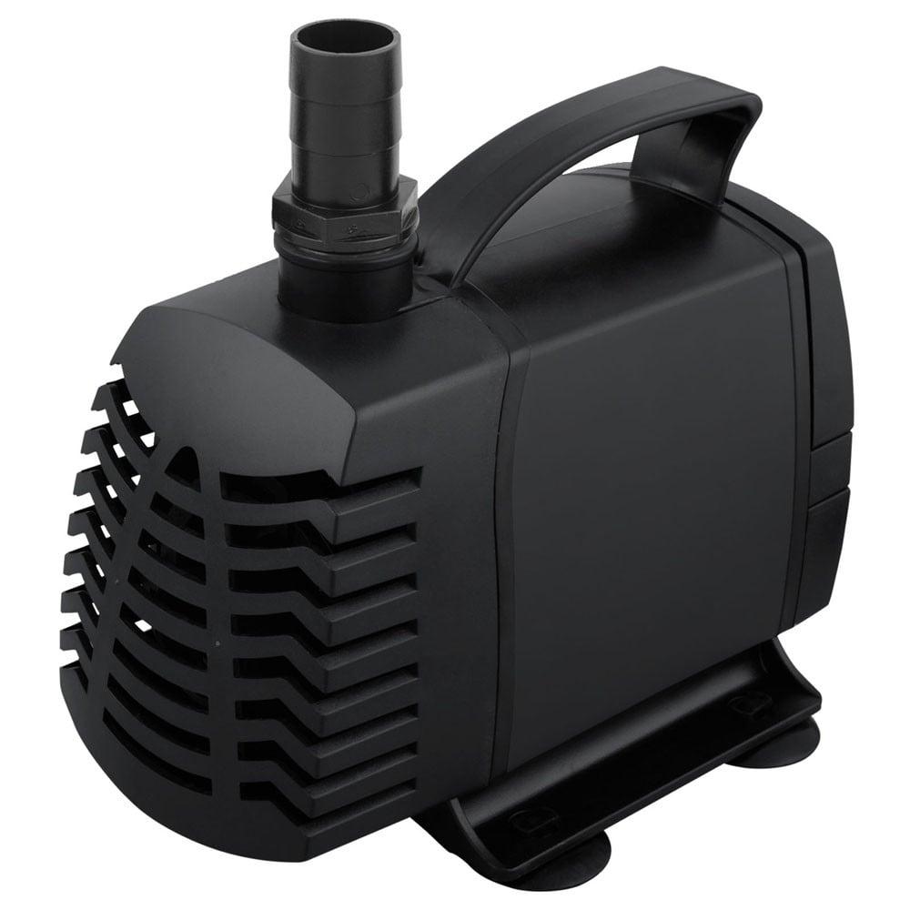 4000L Submersible Aquarium Fountain Water Pump - Black