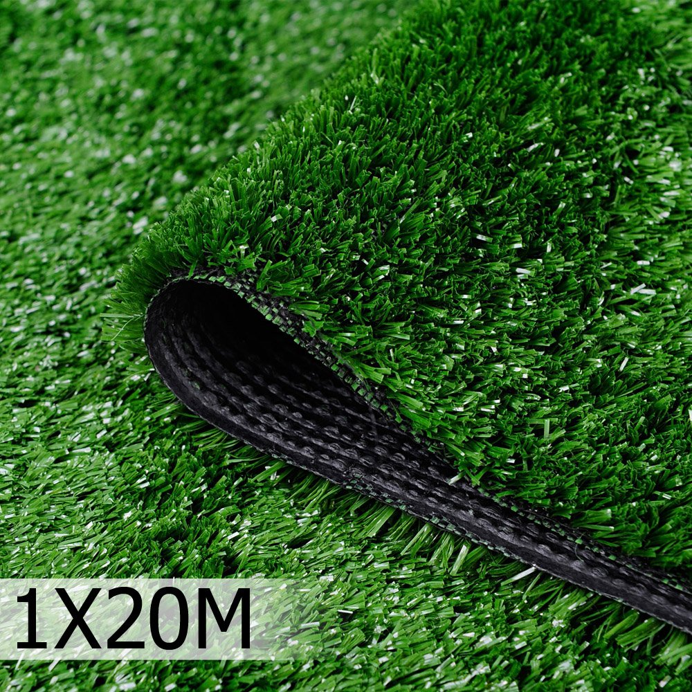 Artificial Grass 20 SQM Synthetic Lawn 1m x 20m