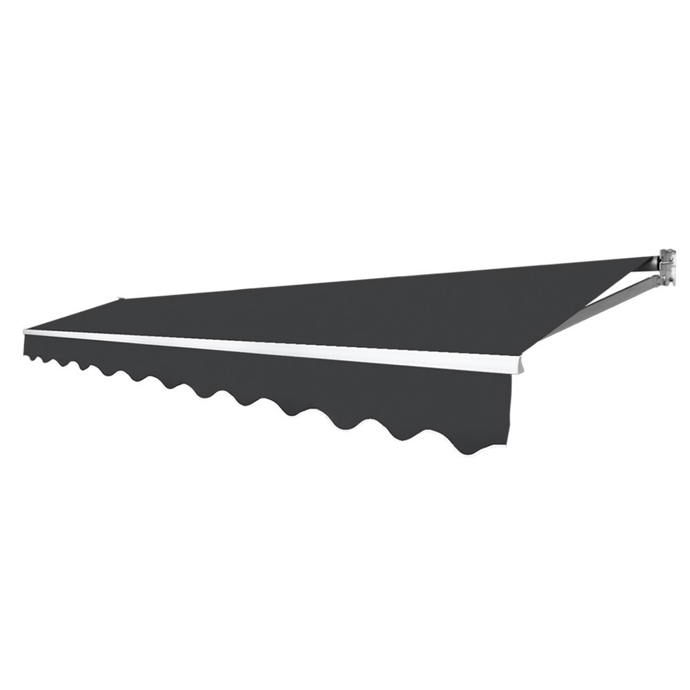 Retractable Outdoor Arm Awning 4 x 2.5M - Grey