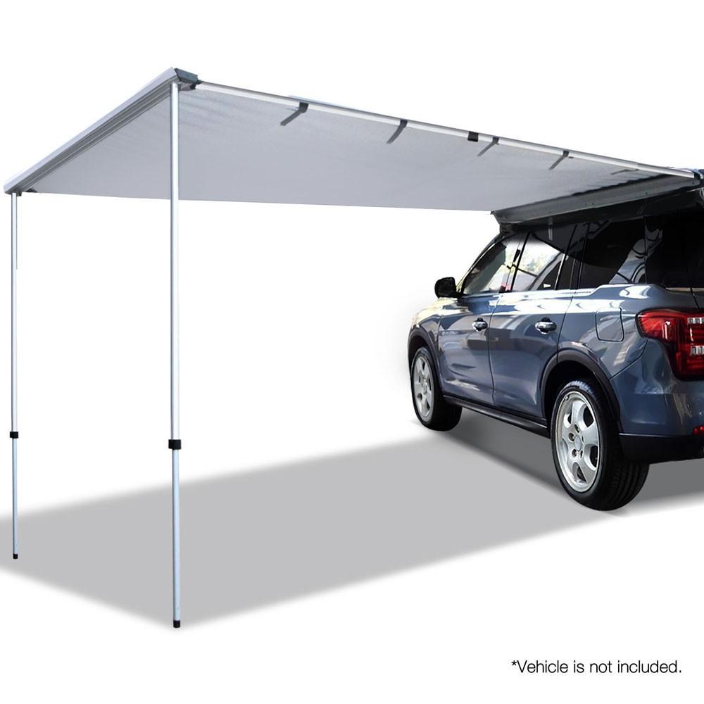 Car Shade Awning 2.5 x 3M - Grey