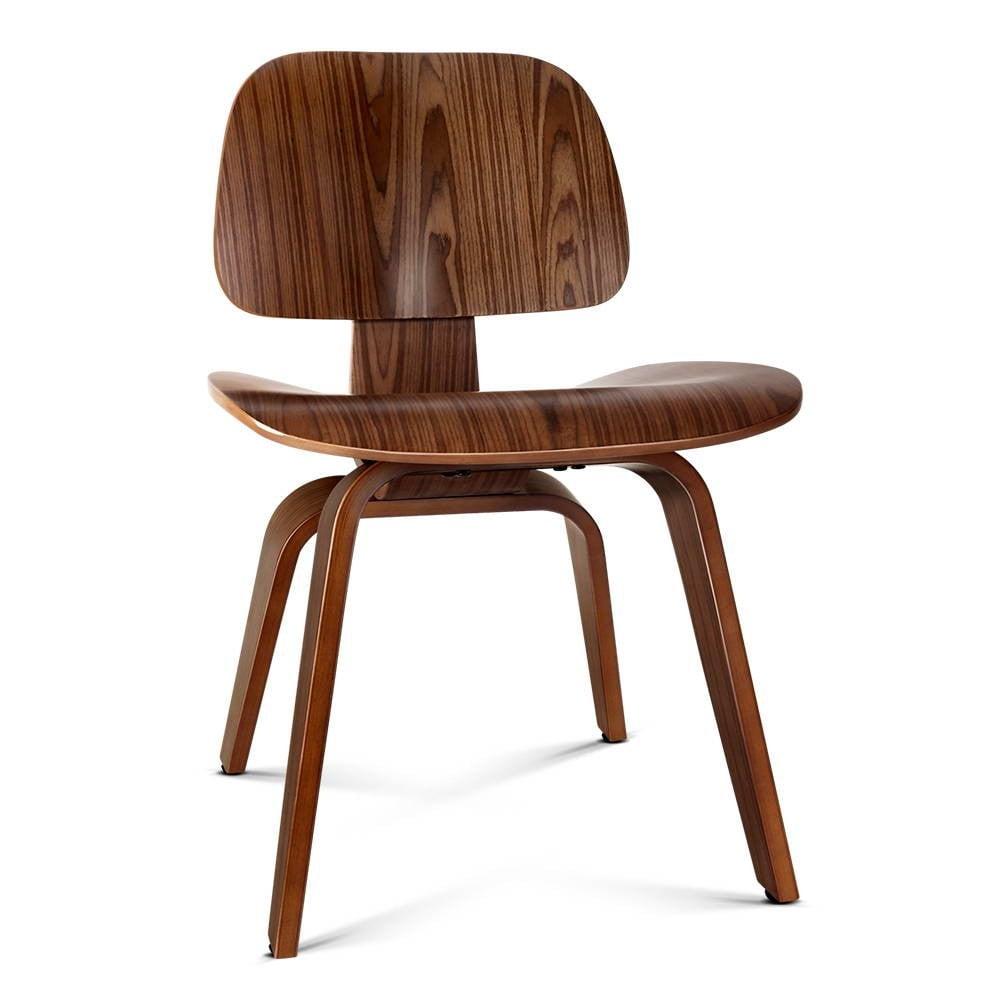 Wooden Dining Chair - Walnut