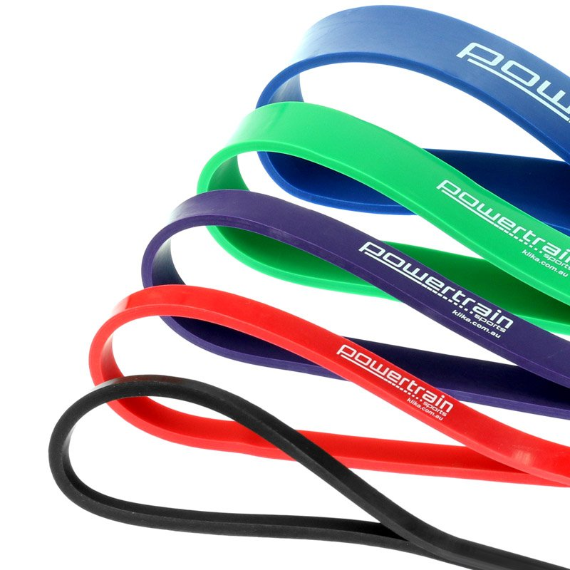 Workout Bands Music: Powertrain Heavy Duty Exercise Resistance Bands
