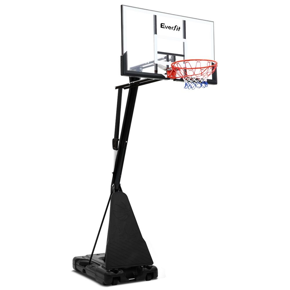 Regulation full size portable adjustable basketball stand