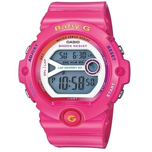 Casio Baby-G Digital Female Pink Watch BG-6903-4BDR