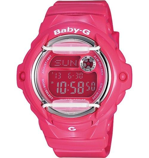 Casio Baby-G Pink World Time Womens Watch BG-169R-4BDR