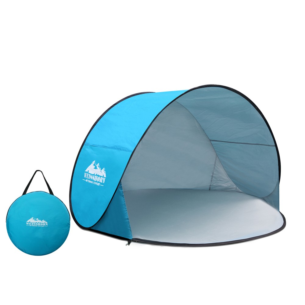 3 Person Portable Pop Up C&ing Tent - Blue  sc 1 st  Klika & Pop Up Shower Tent | Klika