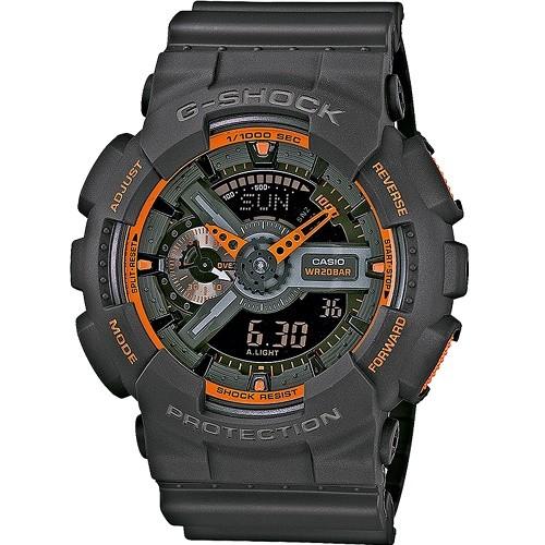 Casio G-Shock Analogue/Digital Mens Watch GA110TS-1A4