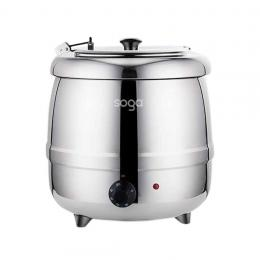 SOGA 10L  Kettle Commercial Pot Electric Soup Maker Stainless Steel