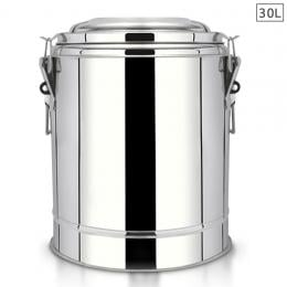 30L Stainless Steel Insulated Stock Pot Dispenser Hot & Cold Container