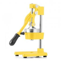 SOGA Commercial Manual Juicer Hand Press Juice Extractor Yellow
