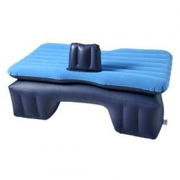 SOGA Inflatable Car Mattress Portable Travel Camping Air Bed Blue