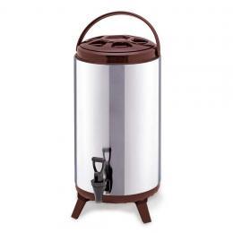 SOGA 16L Portable Insulated Cold/Heat Coffee Tea Beer Barrel Brew Pot