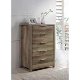 Alice Tallboy Drawer Cabinet Furniture Oak