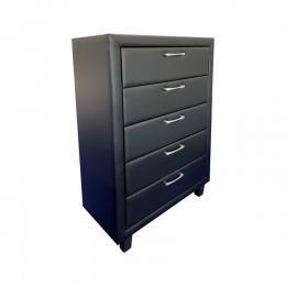 Cabinet Drawer Furniture Albany Tallboy Black