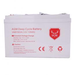 135AH AGM Battery 12V AMP Hour SLA Deep Cycle Dual Fridge Solar Power