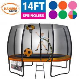 Kahuna Twister 14ft Springless Trampoline