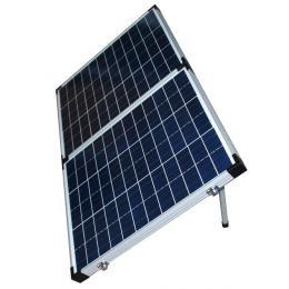 BAINTUFF Foldable Solar Panel (50W x 2 Panels) - includes bag