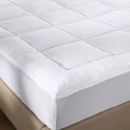 Royal Comfort 1000GSM Memory Mattress Topper Cover Protector - Double