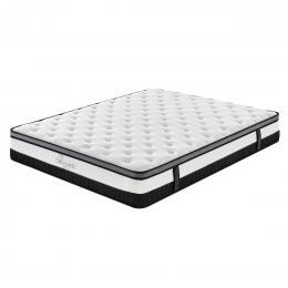 Osteopedic Euro Top Mattress Pocket Spring Medium Firm - Queen - White