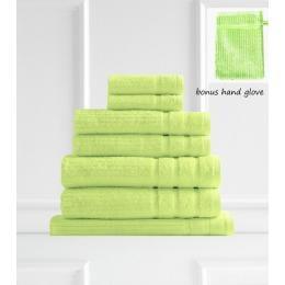 Royal Comfort Eden Egyptian Cotton 600GSM 8 Piece Towel - Spearmint