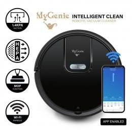 MyGenie WI-FI GMAX Robotic Vacuum Cleaner Mop App Control Dry