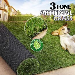 20 Sqm Synthetic Turf Artificial Grass 3 Tone 20mm