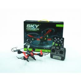 Sky Hawkeye Six-Axis Gyro-Stabilised LED Navigation Quadcopter  Drone