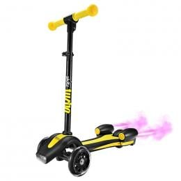 Go Skitz Turbo 3 Wheeler Scooter - Yellow