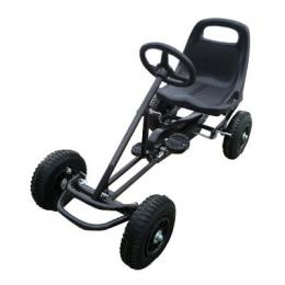 Ride On Kids Toy Pedal Bike Go Kart Car - Black