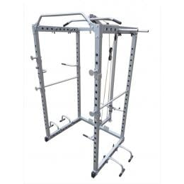 Home Gym Power Rack Cage Squat Pull Up Multi Station Tower