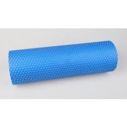 EVA Foam Massage Roller Yoga Pilates 45 x 15cm Blue