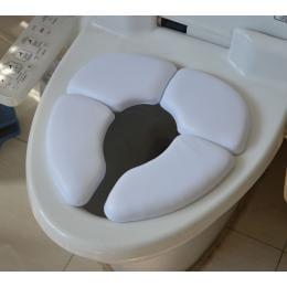 Kids Baby Toddler Travel Folding Padded Potty Seat Cushion Toilet