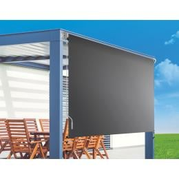 Retractable Straight Drop Roll Down Awning Garden Patio  2.1x2.5m