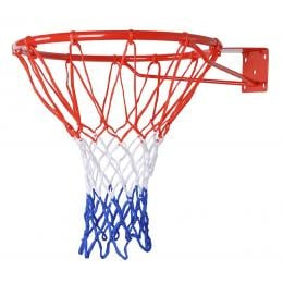 Pro Size Wall Mounted Basketball Hoop Ring  Net Dunk Shooting Outdoor