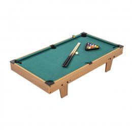 Kids Mini Billiard Table Game Wooden Snooker Pool Fun Birthday Gift
