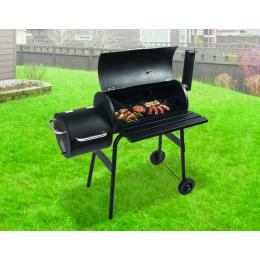 Bbq Smoker Charcoal Grill Roaster Portable Outdoor Camping Barbecue