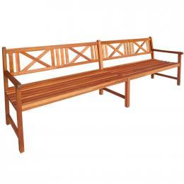 Garden Bench 240 Cm Solid Acacia Wood