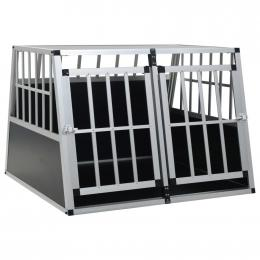 Dog Cage With Double Door 94x88x69 Cm